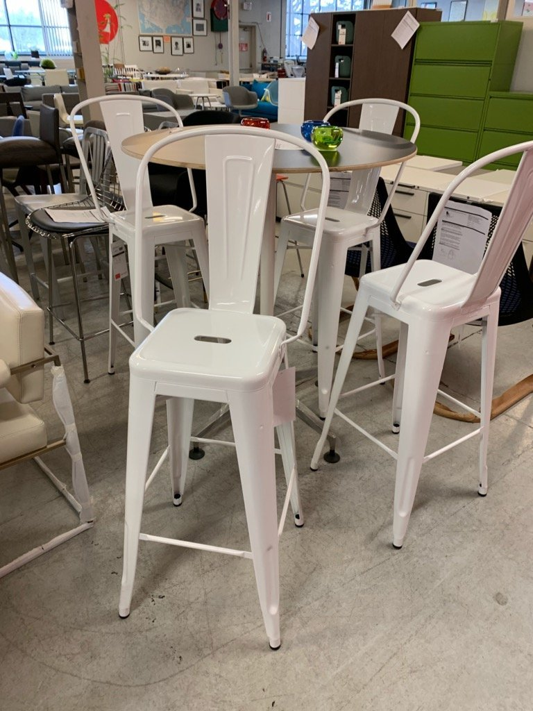Awesome Tolix Marais Barstool High Back Office Outlet Gmtry Best Dining Table And Chair Ideas Images Gmtryco