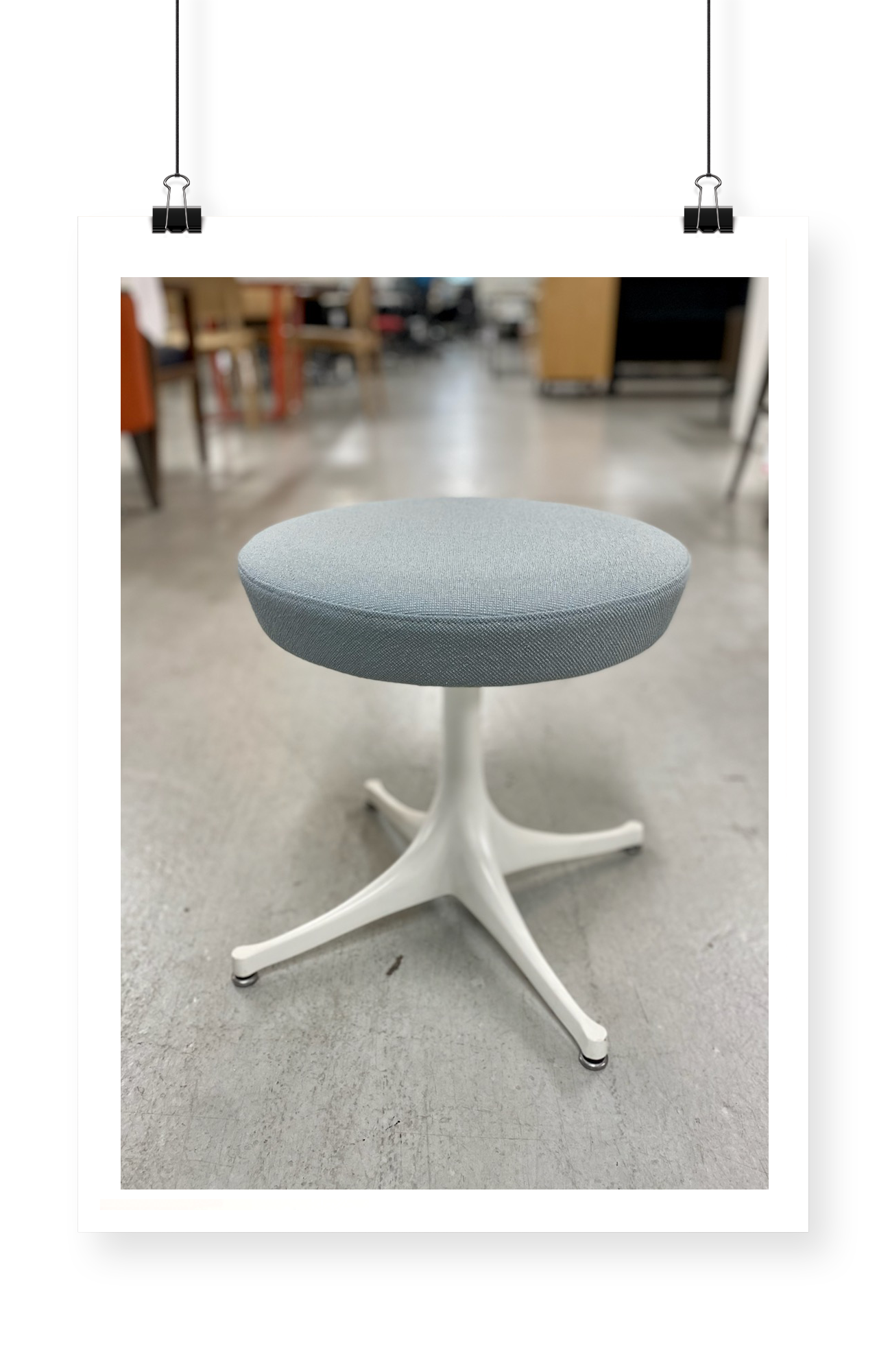 May - Nelson Pedestal Stool